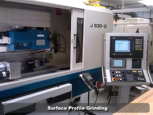 Surface Profile Grinding